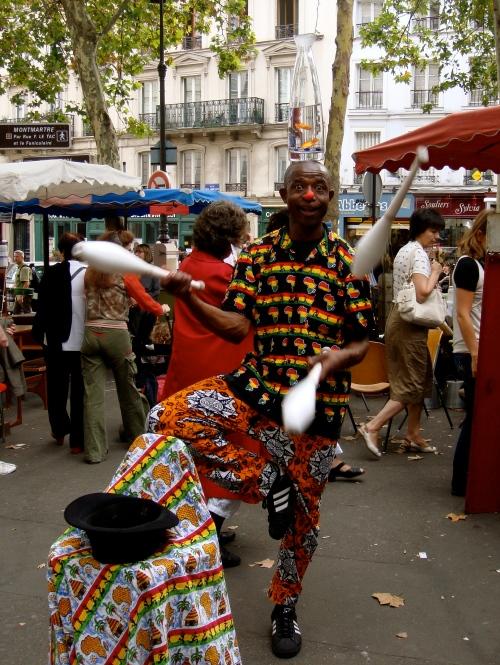 happy juggler